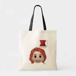 Black Widow Emoji Tote Bag