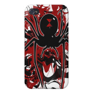 Black Widow iphone 4 Hard Case iPhone 4/4S Cover