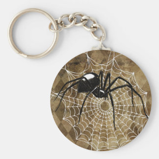 Black Widow Keychain