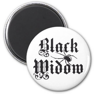 Black widow magnet