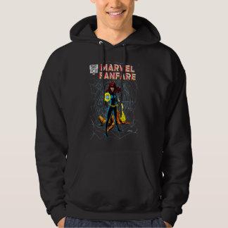 Black Widow Marvel Fanfare Hoodie