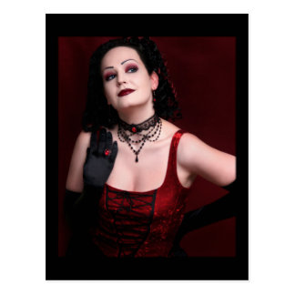 Black Widow - Postcard