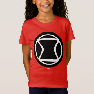 Black Widow Retro Icon T-Shirt