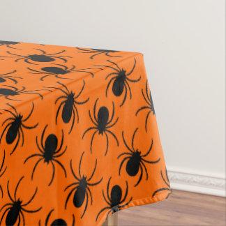 black widow spider halloween design tablecloth