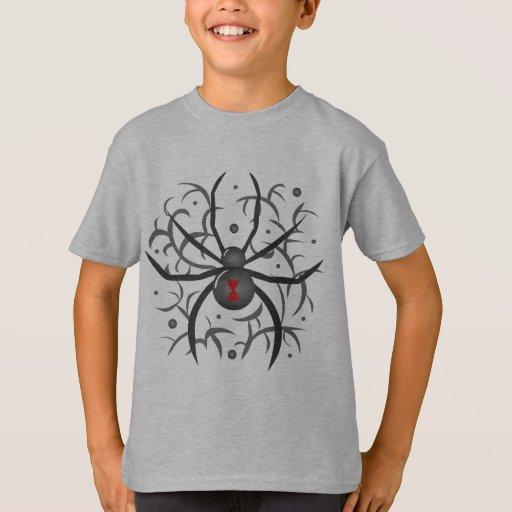 Black Widow Spider Tshirts