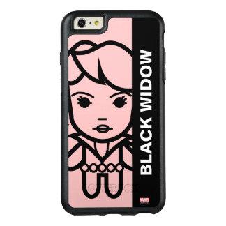 Black Widow Stylized Line Art OtterBox iPhone 6/6s Plus Case