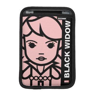 Black Widow Stylized Line Art Sleeve For iPad Mini