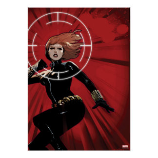 Black Widow Targeted Poster