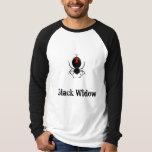 Black Widow tee-shirt Tshirt