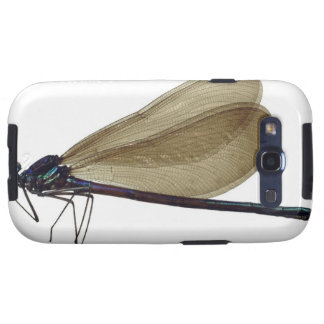 Black-winged damselfly samsung galaxy s3 cover