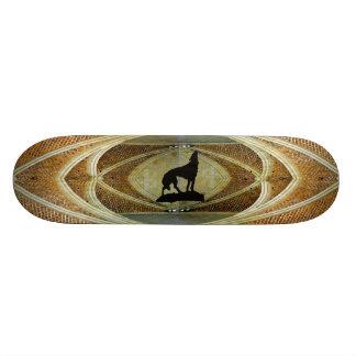 Black Wolf Skateboard