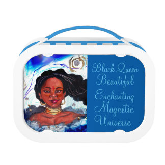 Black Woman Lunchbox