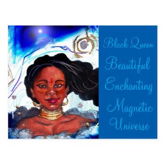 Black Woman Postcard