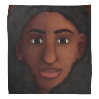 Black Woman Watching Bandana