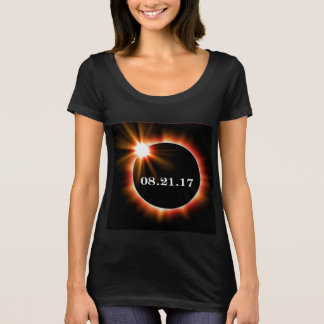 BLACK - Women's Next Level Scoop Neck T-shirt