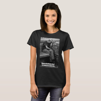 Black Women's T-Shirt Go Hungry Day
