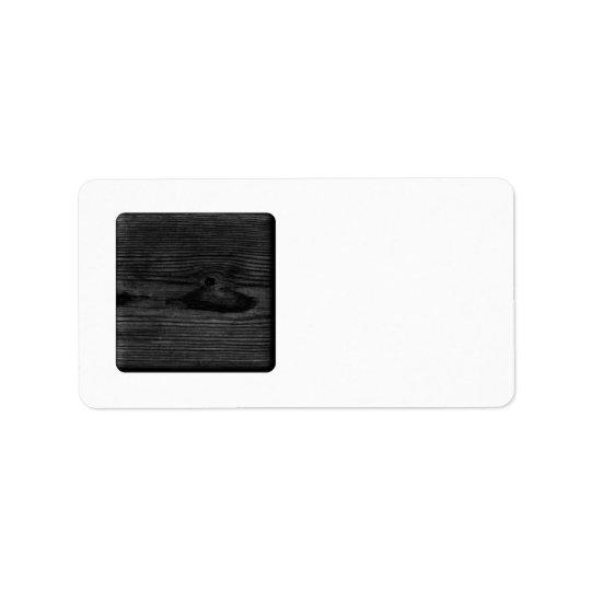 Black Wood Image.