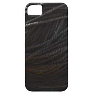 Black Yarn iPhone 5 Covers