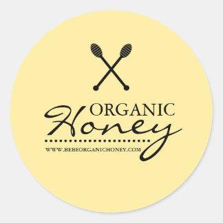 Black & Yellow Honey Business Sticker