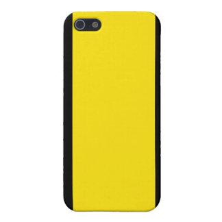 Black & Yellow iPhone 5 Case