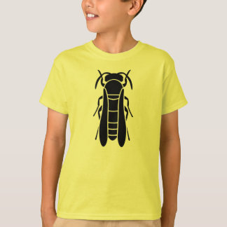 Black Yellow Jacket Insect Print