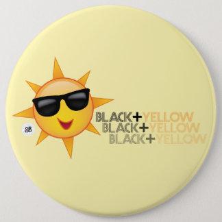 Black + Yellow Mega Yinz Pin