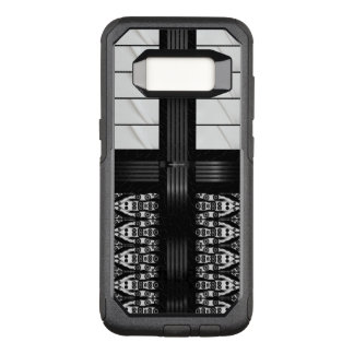 Black Zebra White Stripes OtterBox Commuter Samsung Galaxy S8 Case