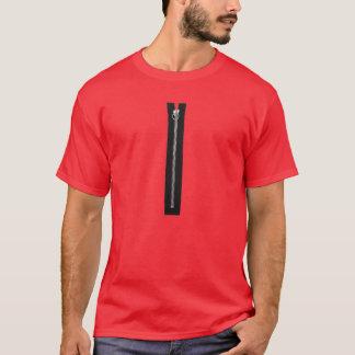 Black Zipper T-Shirt