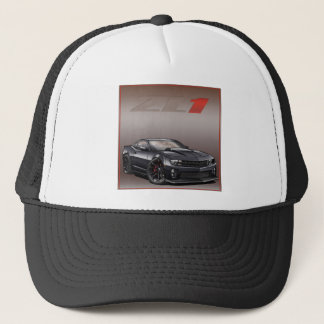 Black_ZL1 Trucker Hat