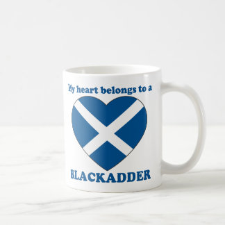 Blackadder Classic White Coffee Mug
