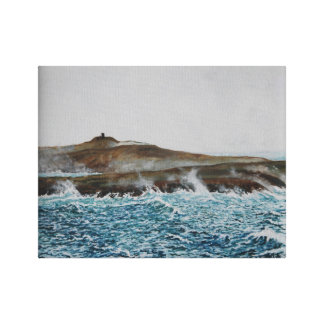 BlackBall Head Tower , Oil:  Canvas Print