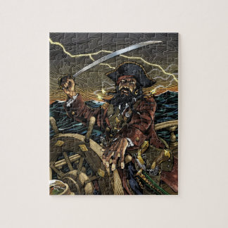 Blackbeard Pirate Puzzle