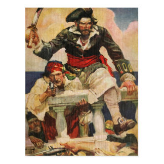 Blackbeard the Buccanneer Postcard