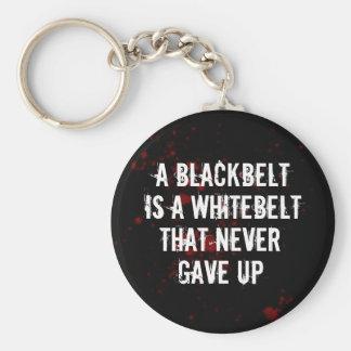 Blackbelt Keychain
