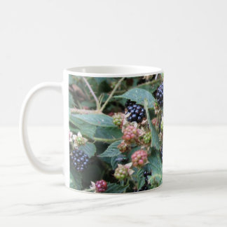 blackberries coffee mug