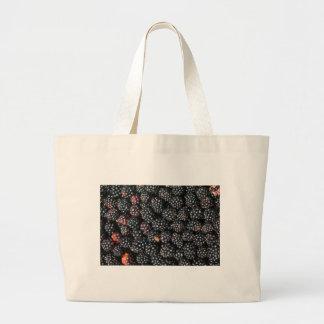 Blackberries Large Tote Bag