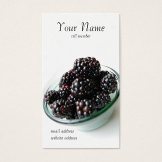 Blackberries profile card