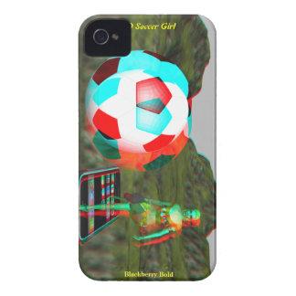 BlackBerry Bold 3D Soccer Girl Case Case-Mate iPhone 4 Case