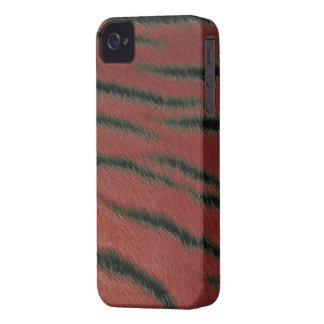 Blackberry Bold Case -  Tiger Fur - Scarlet