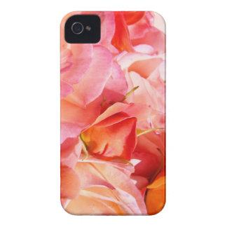 Blackberry Bold floral cases Pink Roses Flowers iPhone 4 Case-Mate Case