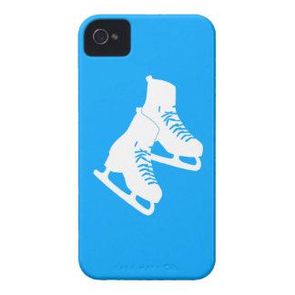 Blackberry Bold Ice Skates Blue Case-Mate iPhone 4 Case