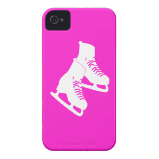 Blackberry Bold Ice Skates Pink iPhone 4 Cases