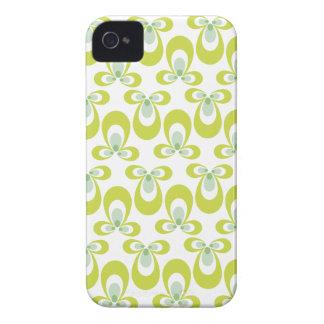Blackberry Case in Pale Green Swirlls