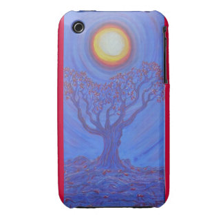 Blackberry Case-Misty Blue iPhone 3 Case-Mate Cases