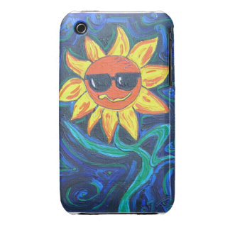 Blackberry Case- Sunny the Sunflower iPhone 3 Case