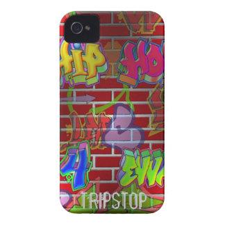 blackberry case with hip-hop graffitti