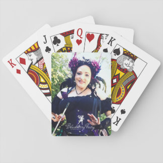 Blackberry Fairy Playing Cards