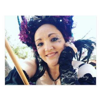 Blackberry Fairy Postcard