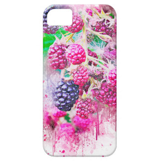 blackberry fruit art abstract case for the iPhone 5