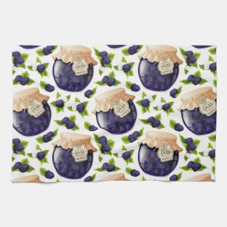 Blackberry Jam Kitchen Towel
